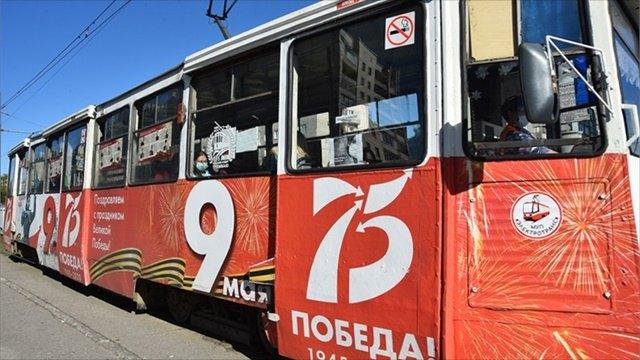 Передвижная выставка в«Трамвае Победы» проделала путь длиной 14850 километров