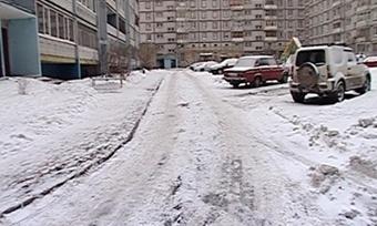 Лучше всего суборкой снега справляются коммунальщики Северного района Череповца