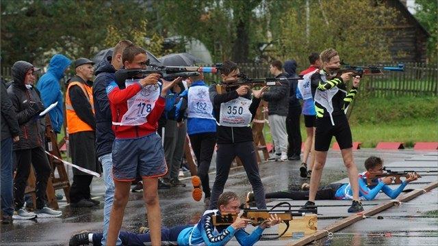Череповецкие биатлонисты выиграли первенство области