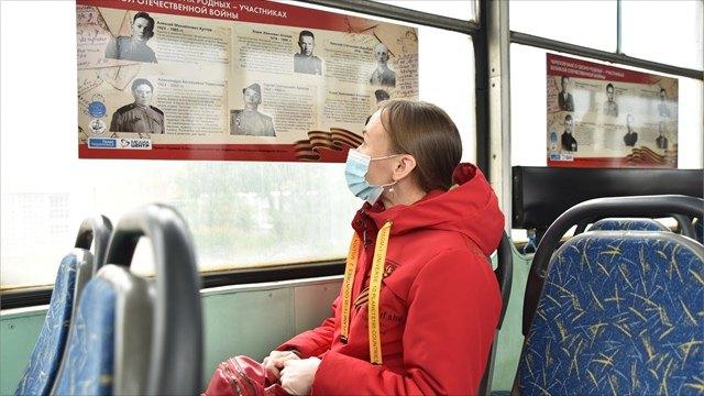 В«Трамвае Победы» пассажиры вспоминают своих родственников-фронтовиков